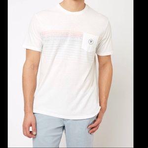 Vissla | Cantina Faded Stripe Pocket Tee T-Shirt